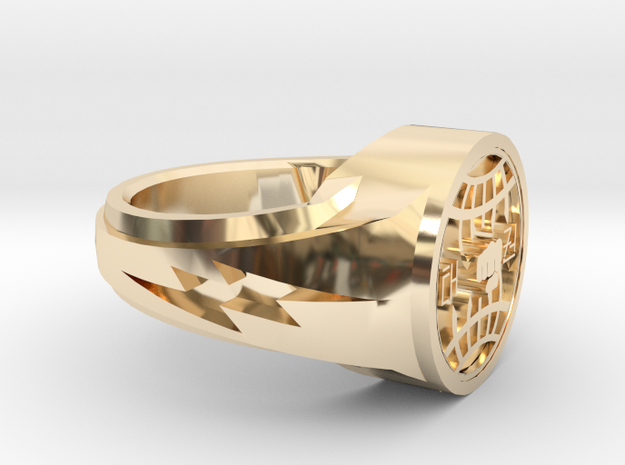 itf tkd ring size 11 in 14k Gold Plated