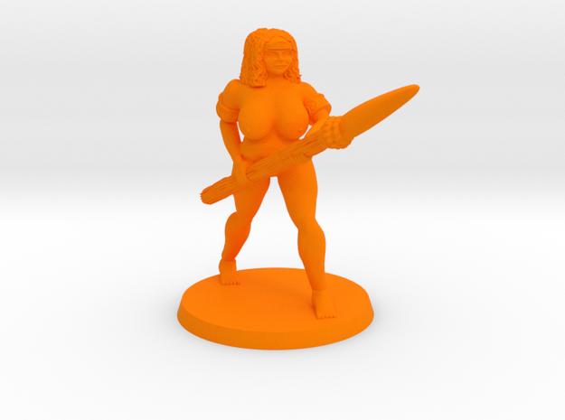 Lois NSFW in Orange Processed Versatile Plastic