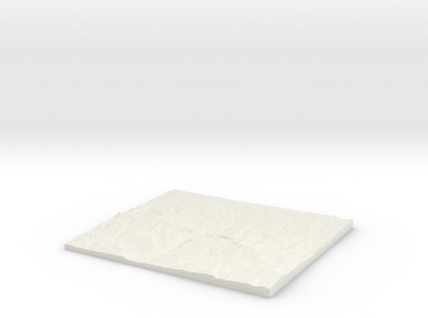 Winchester, Hampshire W440 S122 E458 N138  in White Natural Versatile Plastic