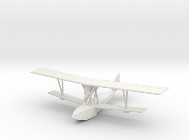 GWA16 Macchi M.5 (1/144) in White Natural Versatile Plastic