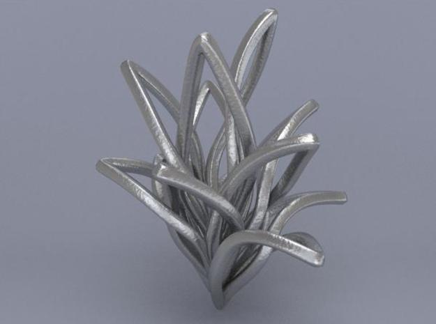 Spiral Flower 3d printed Render 2