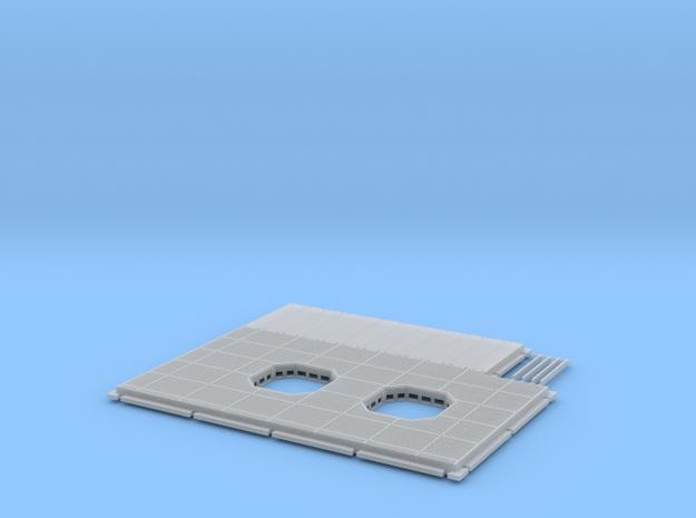 DeAgo Falcon Hold Floor Upgrade in Smooth Fine Detail Plastic