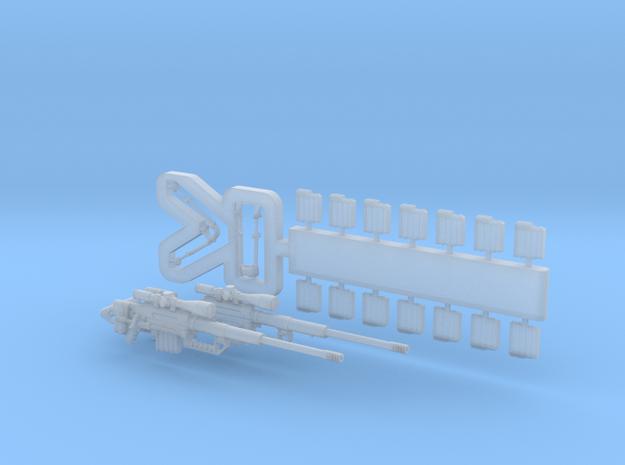 1/35 CheyTac M200 Intervention set MSP35-034 in Smoothest Fine Detail Plastic: 1:35
