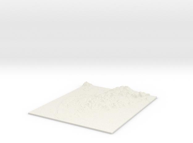 Barrow in Furness W315 S461 E333 N482 in White Natural Versatile Plastic