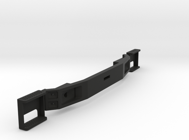 FTF bumper and steps, scale 1:15 in Black Natural Versatile Plastic