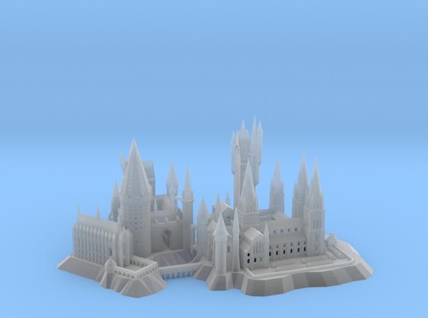 1/1800 Hogwarts in Smooth Fine Detail Plastic