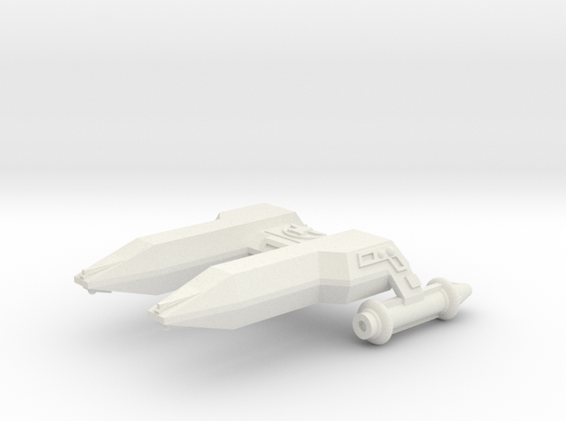 3125 Scale LDR Frigate (FF) CVN in White Strong & Flexible