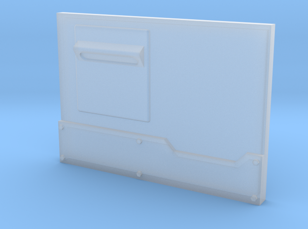 """Metal Box APC"" Panel #1 Lite in Smooth Fine Detail Plastic"