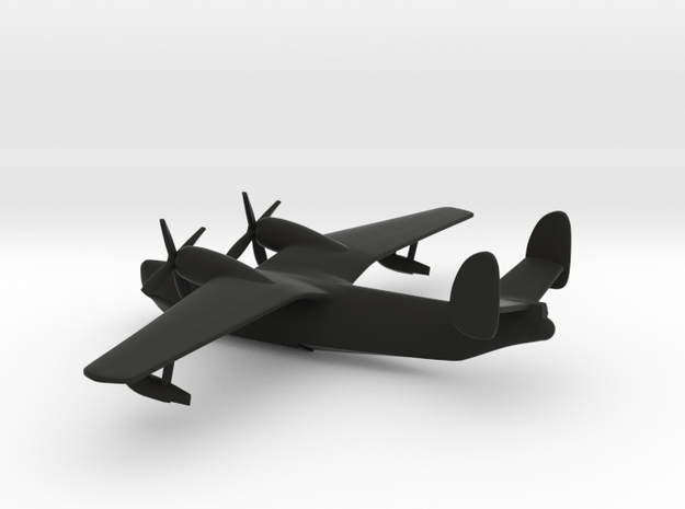 Beriev Be-6 Madge in Black Strong & Flexible: 1:400