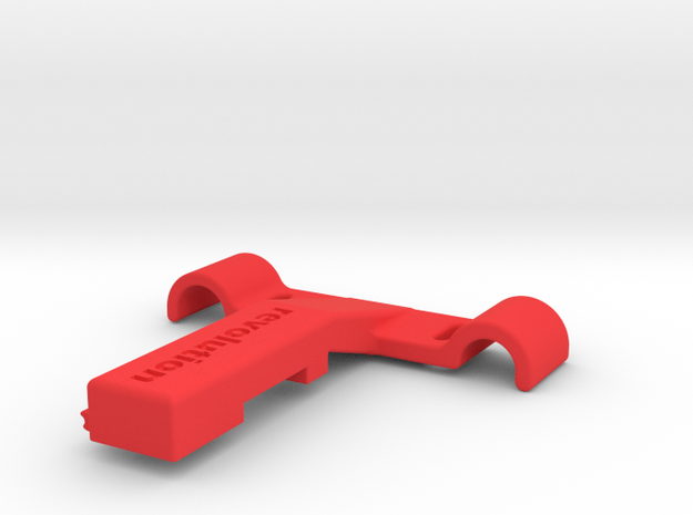 Di2 Seat Rail Mount in Red Strong & Flexible Polished