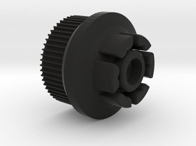 Evolve  GT 83mm Wheel Hack for Boosted Board V2 in Black Natural Versatile Plastic
