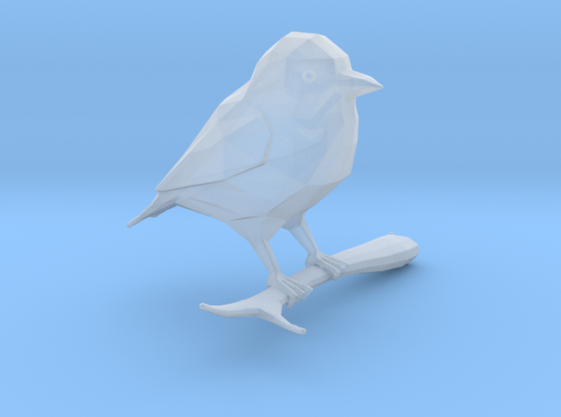 Low-Poly Stylised Bird in Frosted Ultra Detail