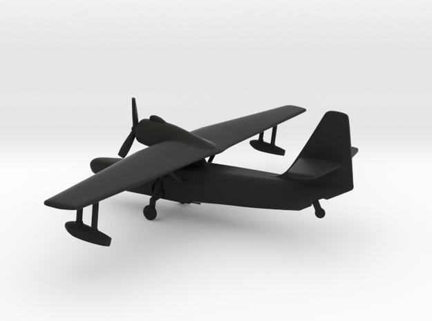 Beriev Be-8 Mole (Landing Gear) in Black Natural Versatile Plastic: 1:200
