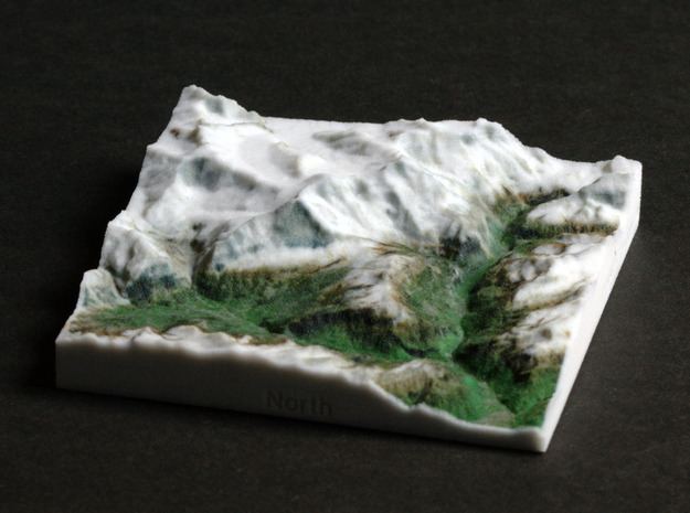 Jungfrau Region, Switzerland, 1:150000 Explorer in Full Color Sandstone