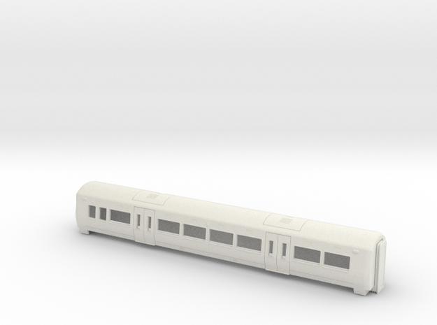 00 Gauge Electrostar MOS in White Natural Versatile Plastic