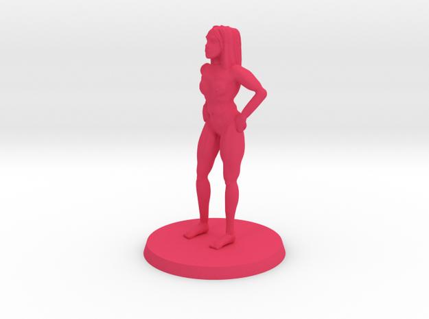 Nude Lass NSFW in Pink Processed Versatile Plastic