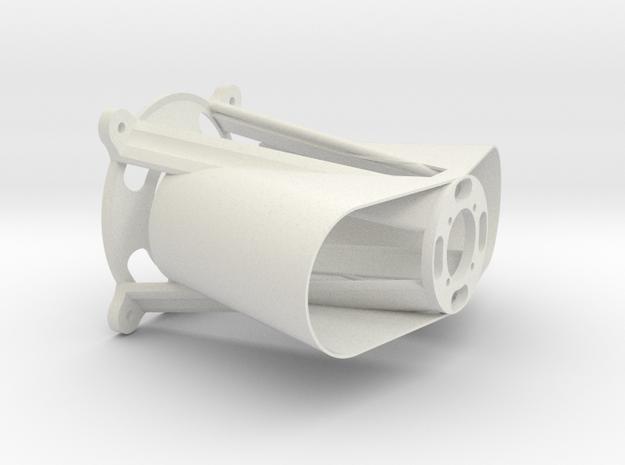 Motormount for Hacker C50-14XL in White Natural Versatile Plastic