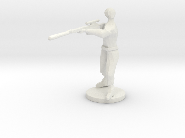 SNIPERFIGHTER3 in White Strong & Flexible