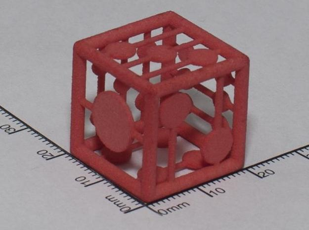 grid die in White Natural Versatile Plastic