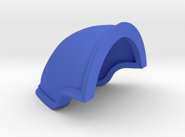 Harlock Pauldrons Imperial Knight Scale  in Blue Processed Versatile Plastic