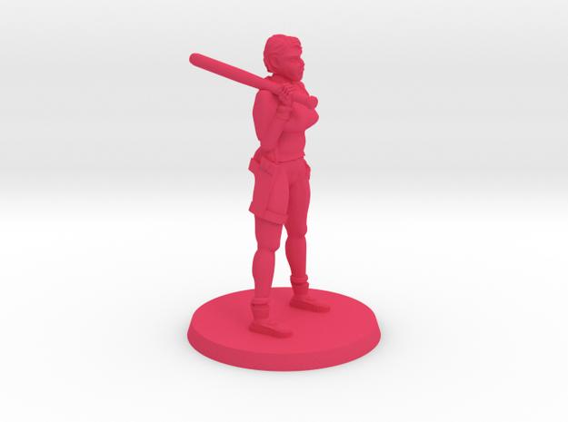 36mm Tammy Zombie Hunter in Pink Processed Versatile Plastic