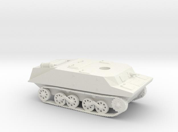 Ka-Mi Hull 15mm - 1/100 in White Natural Versatile Plastic