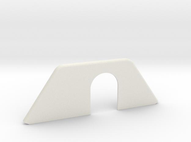 REAR WIPER COVER, HATCH in White Natural Versatile Plastic