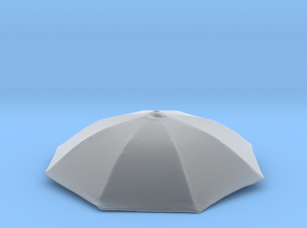 1/24 Umbrella Face Black HD Acrylic Passed in Smooth Fine Detail Plastic
