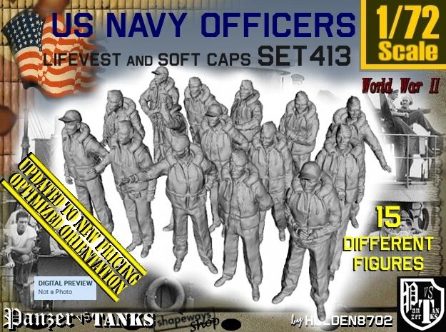 1/72 USN Officers Kapok Set 413