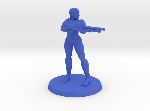 Raider Penny Pose 1 NSFW in Blue Processed Versatile Plastic
