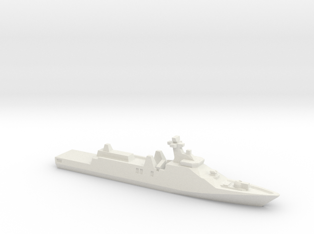Sigma 10514 Frigate, 1/3000 in White Natural Versatile Plastic