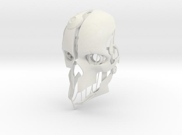 Corvo Mask V2 in White Natural Versatile Plastic