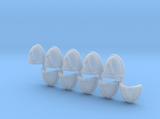 Λ (Lambda) Shoulder Pads Mk7/8 x10 #2 in Frosted Ultra Detail
