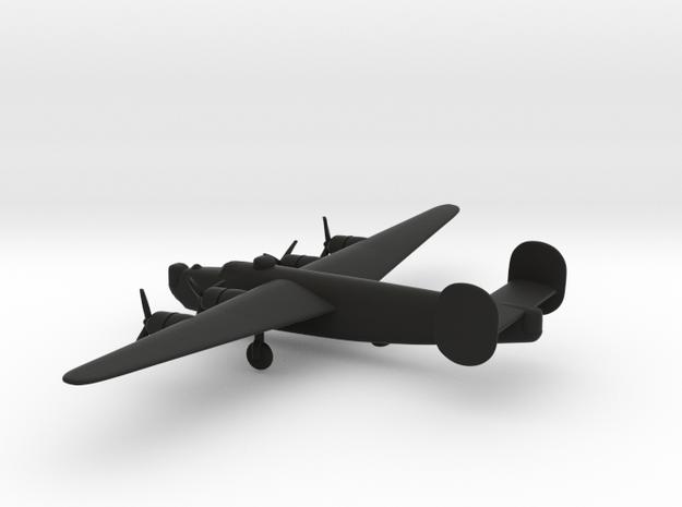 Consolidated B-24J Liberator in Black Natural Versatile Plastic: 6mm