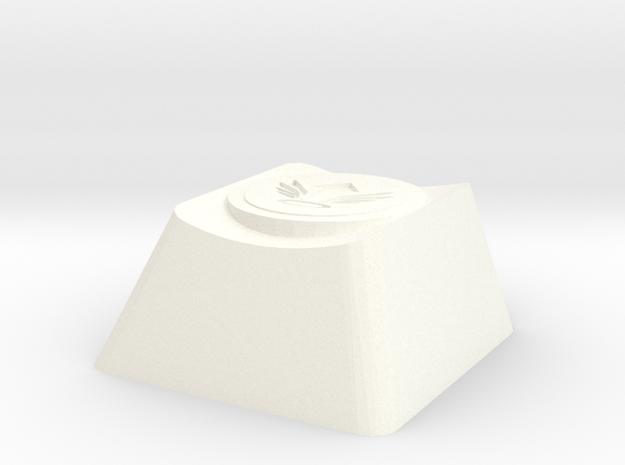 Overwatch Mercy Resurrect Cherry MX Key in White Processed Versatile Plastic