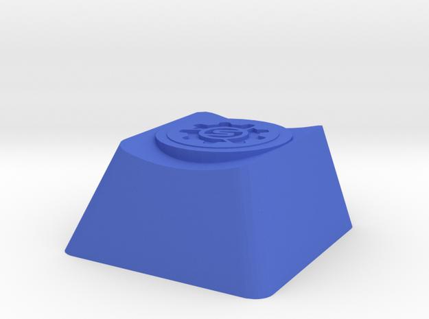 Overwatch Torbjorn Molten Core Cherry MX Key in Blue Processed Versatile Plastic
