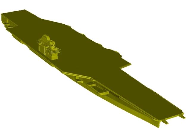 1/3000 scale USS Forrestal CV-59 aircraft carrier