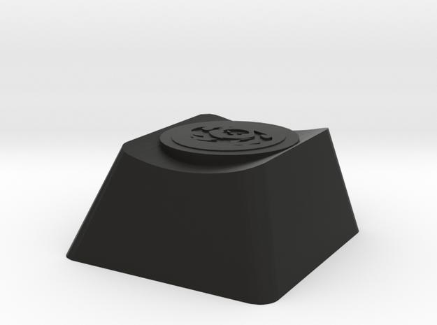 Overwatch Reaper Death Blossom Cherry MX Keycap in Black Natural Versatile Plastic