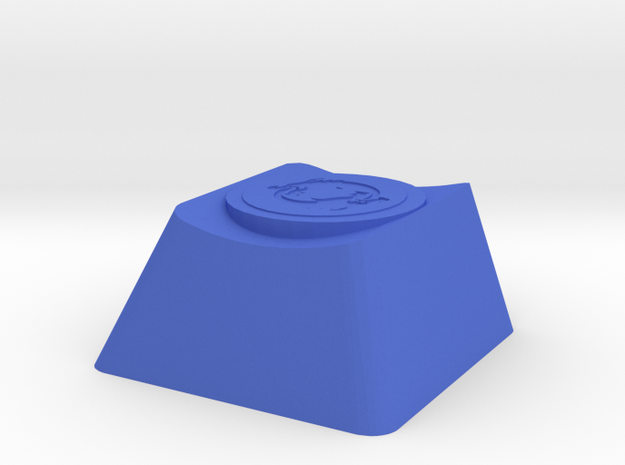 Overwatch Hanzo Dragonstrike Cherry MX Keycap in Blue Processed Versatile Plastic
