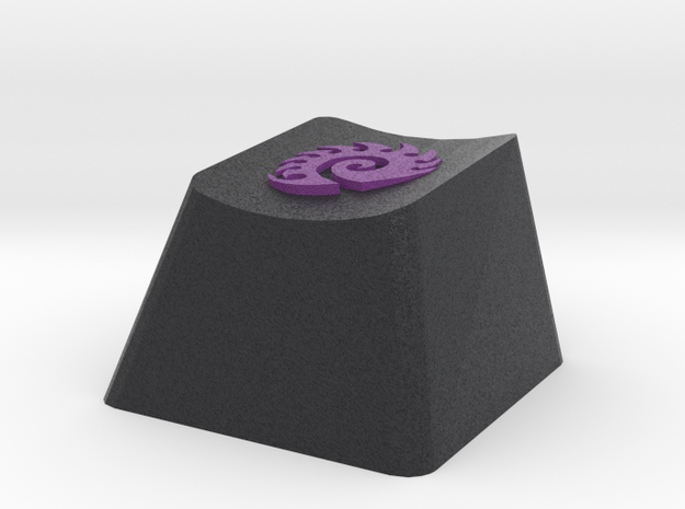 Starcraft Zerg Cherry MX Keycap in Full Color Sandstone