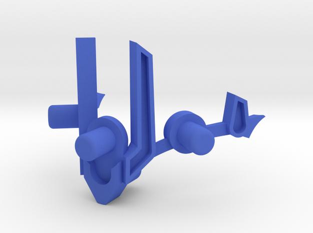 Ishaku Extension in Blue Processed Versatile Plastic