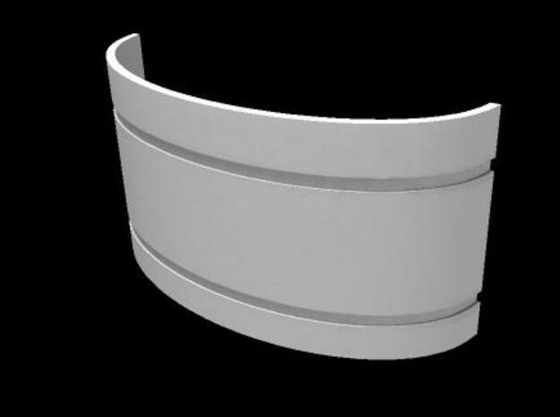 Mekki-Maru Scabbard Collar 3d printed Mekki Collar Front