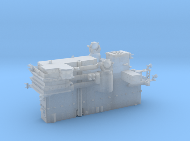 1:720 Scale USS America CVA-66 Island in Smoothest Fine Detail Plastic
