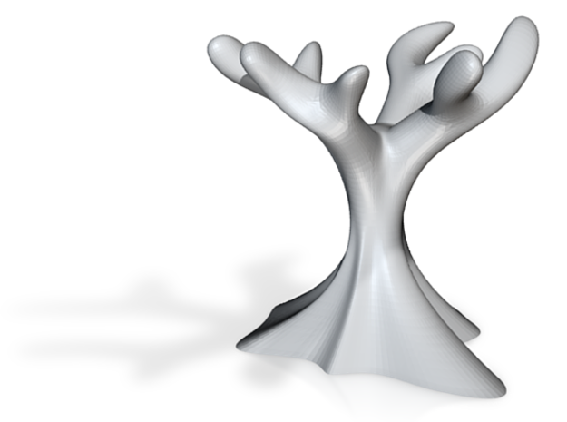 Soapdish tree 3d printed