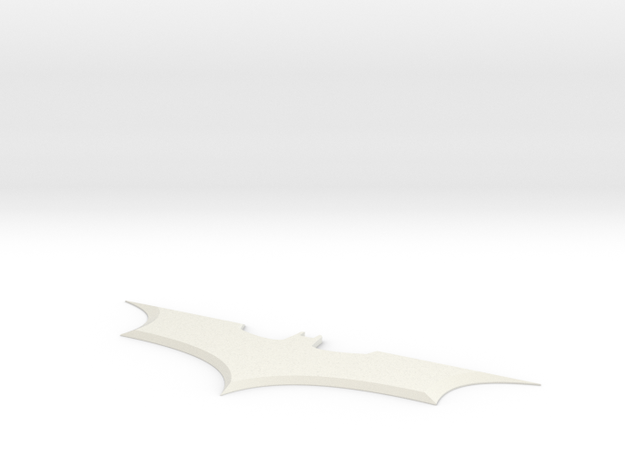 batarang batman begins in White Natural Versatile Plastic