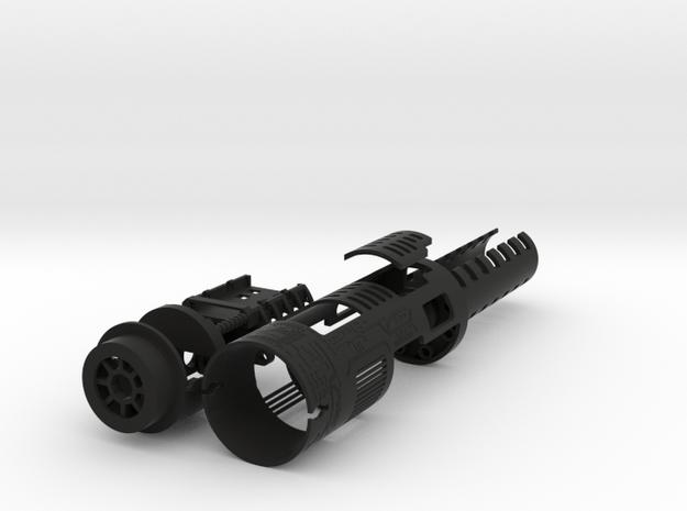 Graflex Skywalker Chassis Part 1 of 2 Body in Black Natural Versatile Plastic