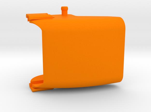 Kamintop zur Wurfweitenverstellung, 25 mm breit in Orange Processed Versatile Plastic