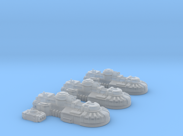1/270 Rebel T1B Tanks (3) in Frosted Ultra Detail