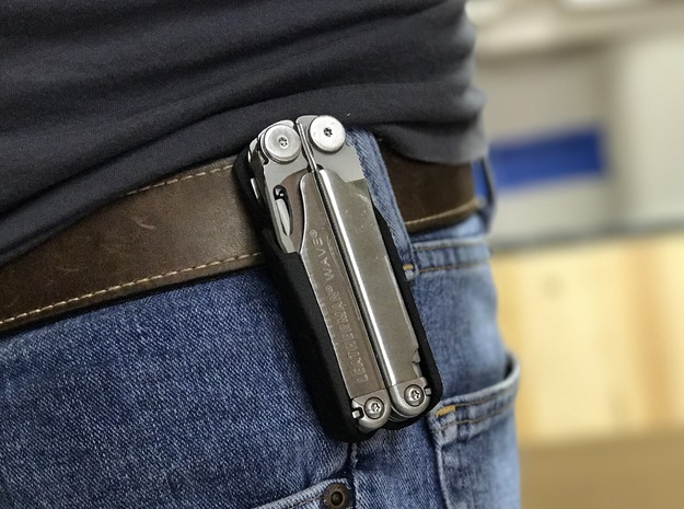 Holster for the Leatherman Wave, Closed Loop