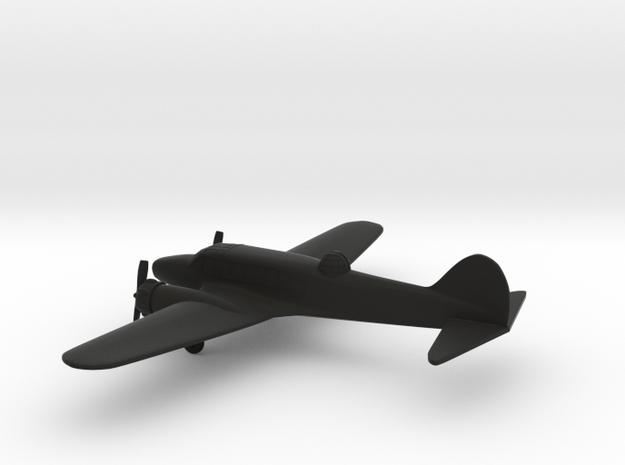 Avro Anson I in Black Natural Versatile Plastic: 1:200
